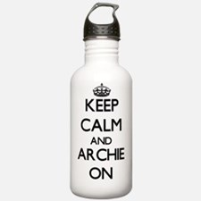 Keep Calm and Archie O Water Bottle