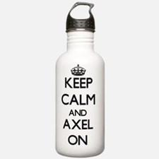 Keep Calm and Axel ON Water Bottle