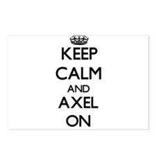 Keep Calm and Axel ON Postcards (Package of 8)