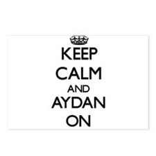 Keep Calm and Aydan ON Postcards (Package of 8)
