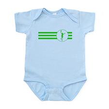 Basketball Layup Stripes (Green) Body Suit