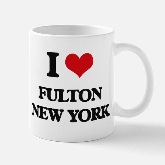 I love Fulton New York Mugs