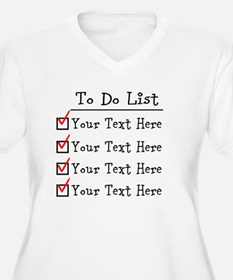 Editable To Do Li T-Shirt
