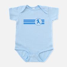 Javelin Throw Stripes (Blue) Body Suit