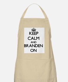 Keep Calm and Branden ON Apron