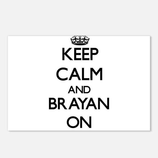 Keep Calm and Brayan ON Postcards (Package of 8)