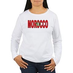 Morocco Women's Long Sleeve T-Shirt