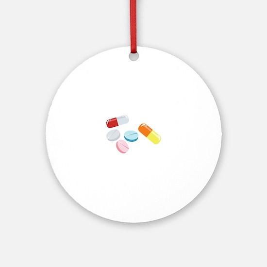 Mixed Pills Ornament (Round)