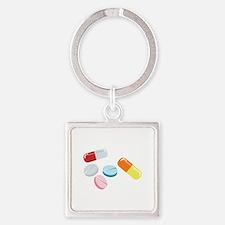 Mixed Pills Keychains