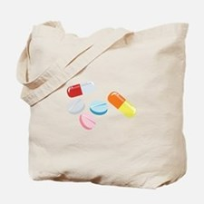 Mixed Pills Tote Bag