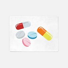 Mixed Pills 5'x7'Area Rug