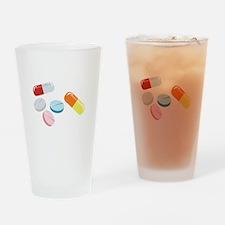 Mixed Pills Drinking Glass