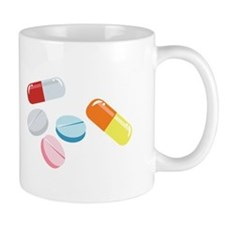 Mixed Pills Mugs