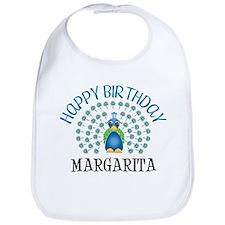 Happy Birthday MARGARITA (pea Bib
