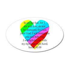 ISAIAH 41:10 Wall Decal