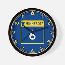 Trunk Highway 6, Minnesota Wall Clock