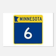 Trunk Highway 6, Minnesot Postcards (Package of 8)