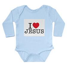 I Love Jesus Body Suit