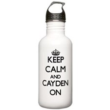 Keep Calm and Cayden O Water Bottle