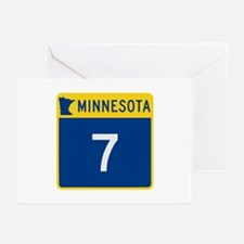 Trunk Highway 7, Minneso Greeting Cards (Pk of 10)