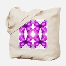 Mirrored Awareness Butterflies Tote Bag