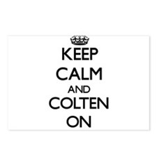 Keep Calm and Colten ON Postcards (Package of 8)