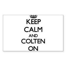 Keep Calm and Colten ON Decal