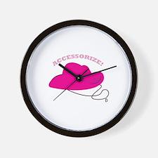Accessorize! Wall Clock
