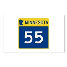 Trunk Highway 55, Minnesota Decal