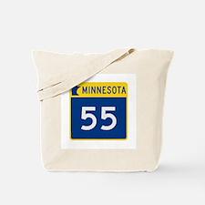 Trunk Highway 55, Minnesota Tote Bag