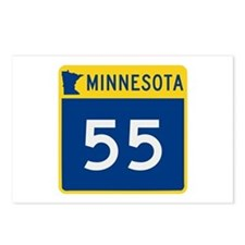 Trunk Highway 55, Minneso Postcards (Package of 8)