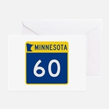 Trunk Highway 60, Minnes Greeting Cards (Pk of 10)