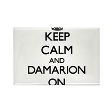 Keep Calm and Damarion ON Magnets