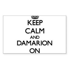 Keep Calm and Damarion ON Decal
