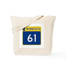 Trunk Highway 61, Minnesota Tote Bag