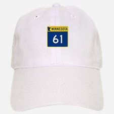 Trunk Highway 61, Minnesota Baseball Baseball Cap