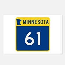 Trunk Highway 61, Minneso Postcards (Package of 8)