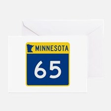 Trunk Highway 65, Minnes Greeting Cards (Pk of 10)