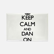 Keep Calm and Dan ON Magnets