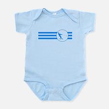 Hammer Throw Stripes (Blue) Body Suit