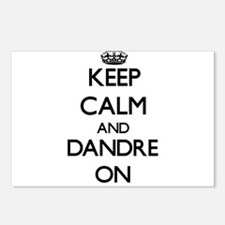 Keep Calm and Dandre ON Postcards (Package of 8)