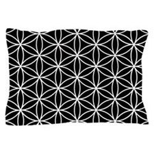 Flower of Life Big Ptn WB Pillow Case