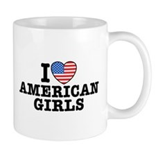 I Love American Girls Mug