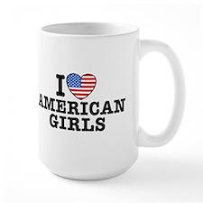 I Love American Girls Mug
