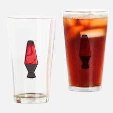 Red Lava Lamb Drinking Glass