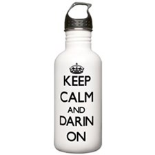 Keep Calm and Darin ON Water Bottle