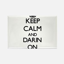 Keep Calm and Darin ON Magnets