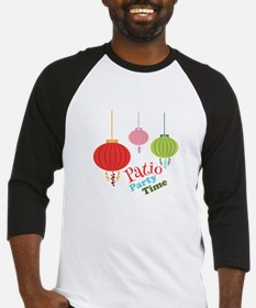 Patio Party Time Baseball Jersey