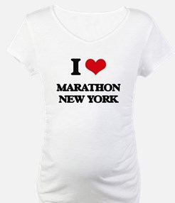 I love Marathon New York Shirt