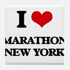 I love Marathon New York Tile Coaster